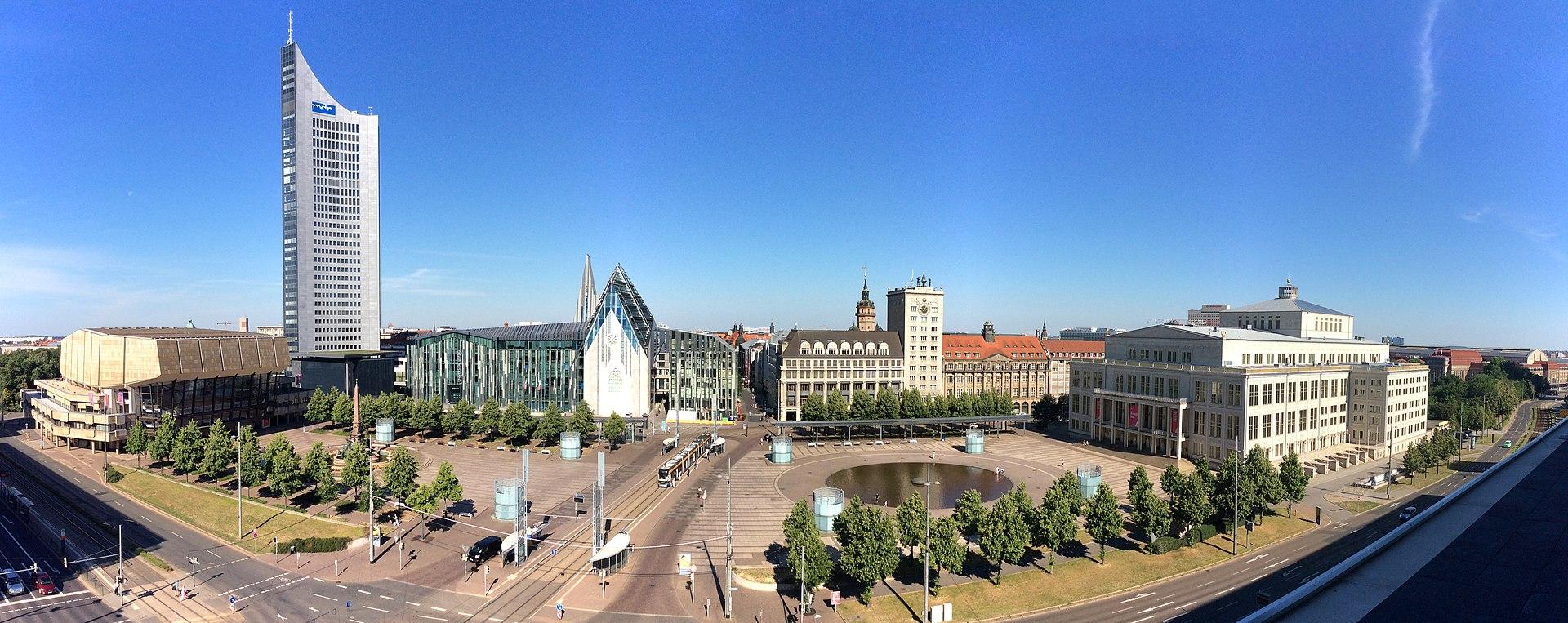 wikipedia-Augustplatz, 2019