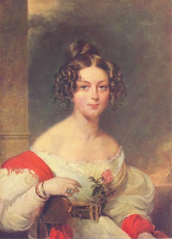 Moritz Michael Daffinger: Rhédey Claudia, 1833-