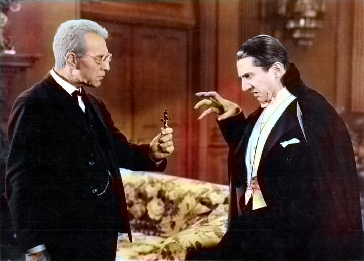 Wikipedia-Lugosi Béla az 1931-es Drakula c. film főszerepében (az Universal Studios lobbikártyáján)