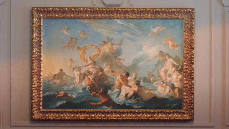 Európa elrablása, Noel-Nicolas Coypel-