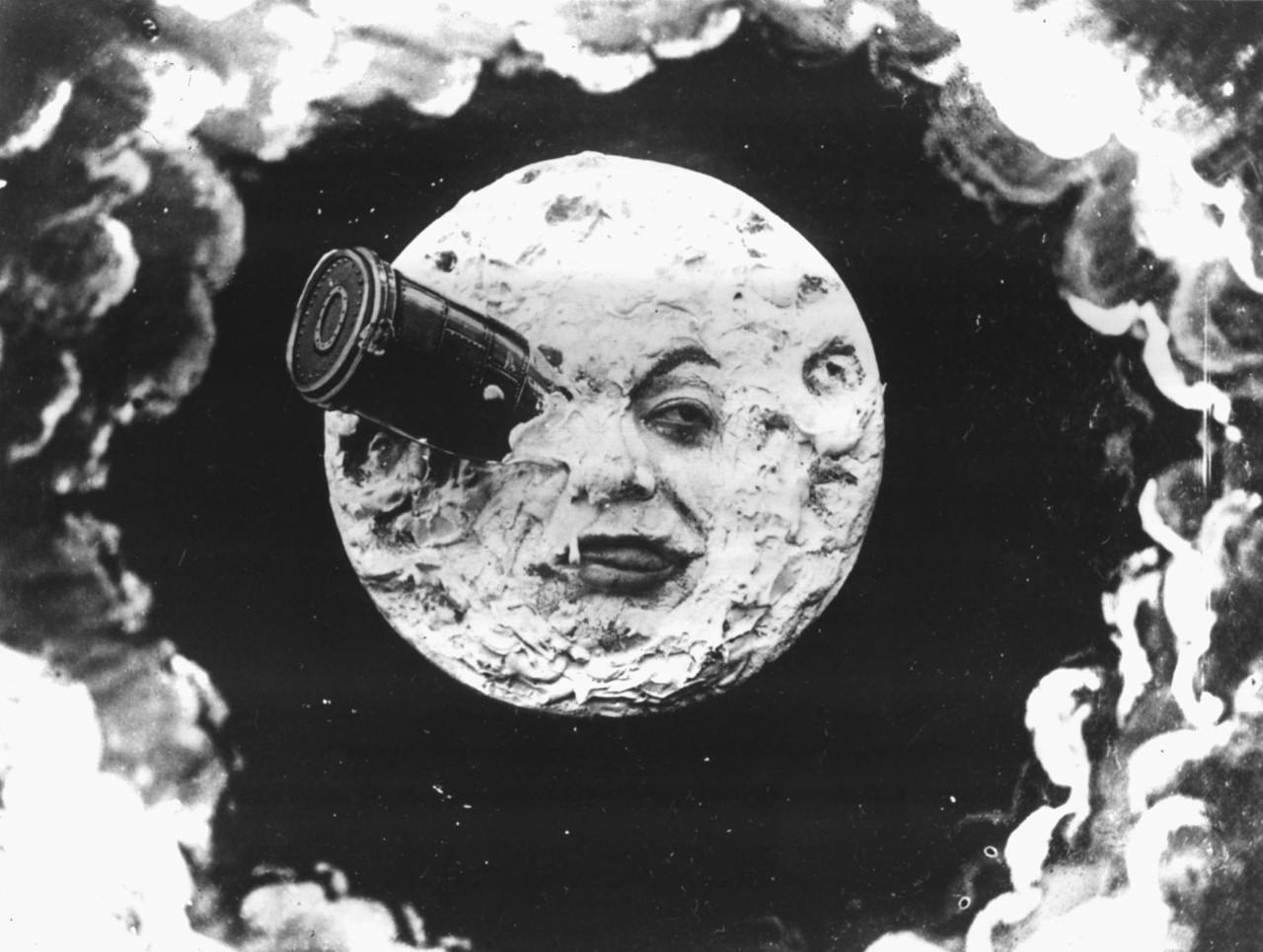 Wikipedia-Georges Méliès: Utazás a Holdba (Le Voyage dans la Lune), 1902