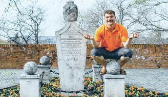 Egy amerikai fiú, aki a magyar történelem szerelmese
