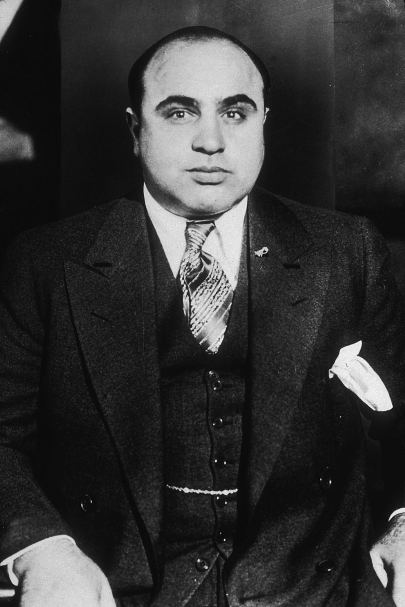 Wide World Photos, Chicago Bureau (Federal Bureau of Investigation)-Al Capone 1930 körül