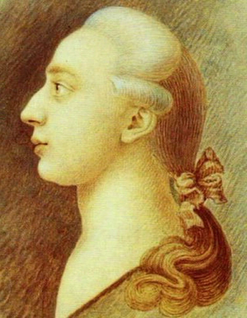 Wikipedia-Casanova fiatalkori arcképe