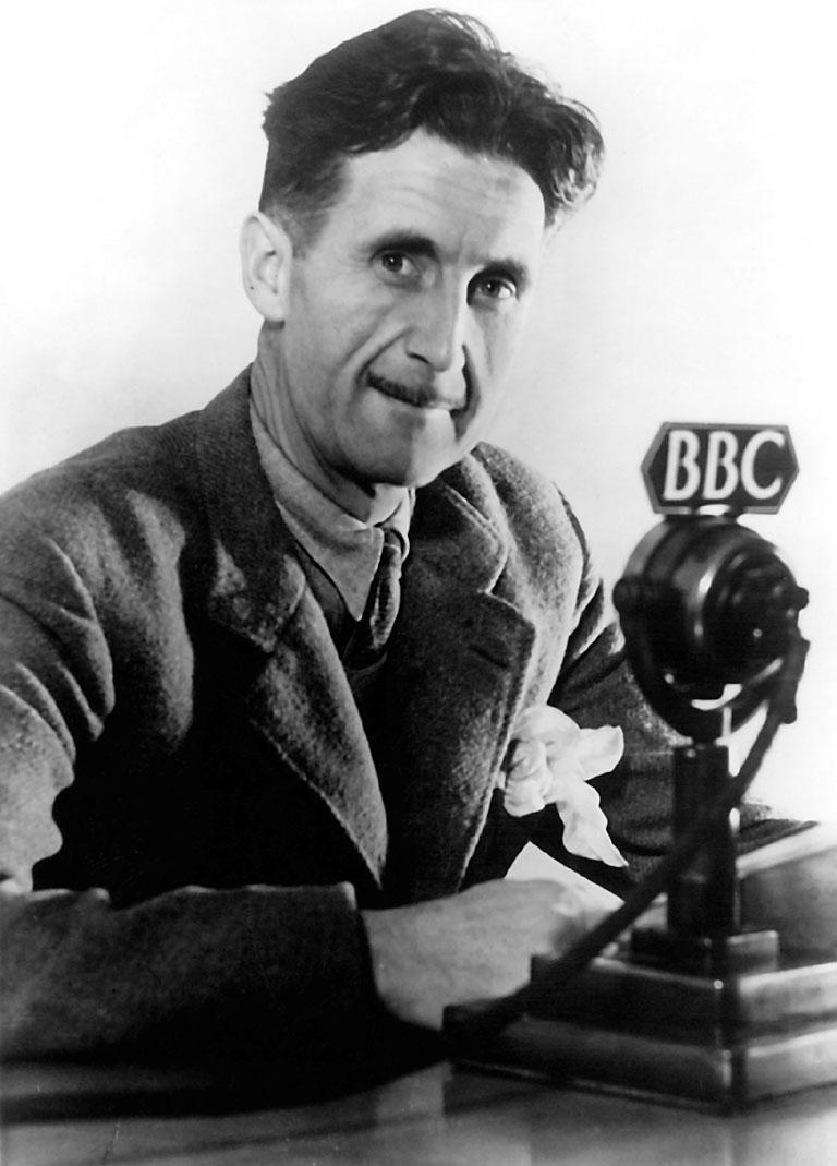 Wikipedia-Orwell a BBC-nek adott, 1940-es interjú felvételekor