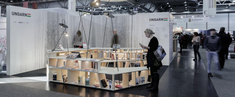 Magyar stand a frankfurti könyvvásáron
