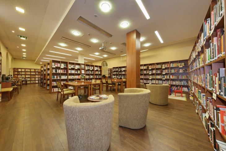 KSH Könyvtár Facebook-A KSH Könyvtár belső tere