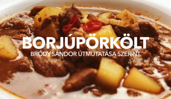Bródy Sándor borjúpörkölt receptje