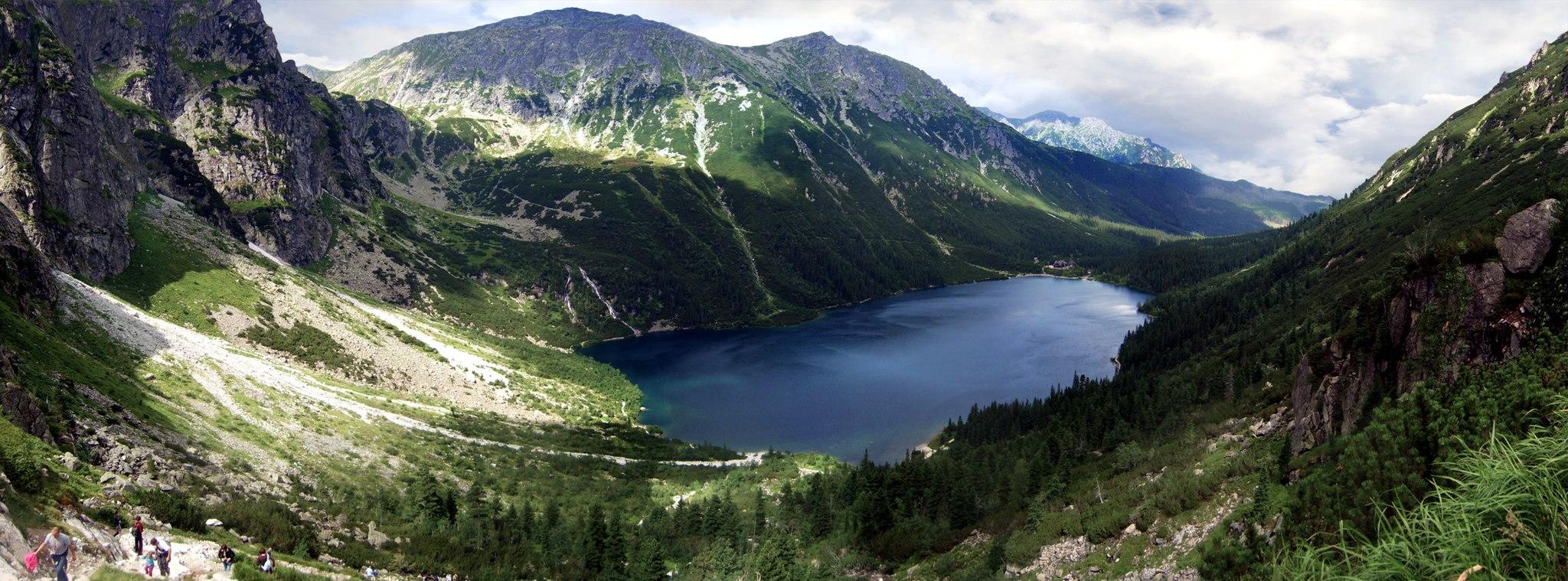 Tamerlan-Kilátás a Morskie Okora a Fekete-tótól