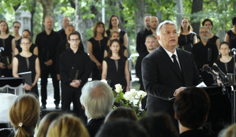 Így búcsúzott Orbán Viktor Fekete Györgytől