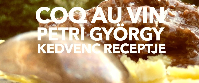 Vörösboros kakas, avagy Coq Au Vin – Petri György receptje