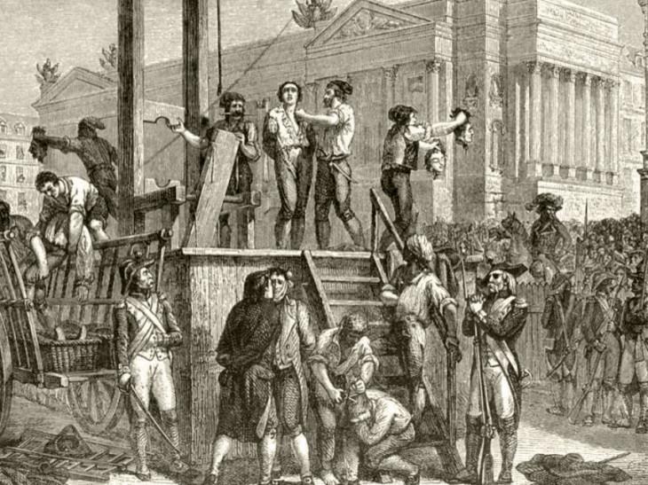 britannica.org-Robespierre és társai kivégzése