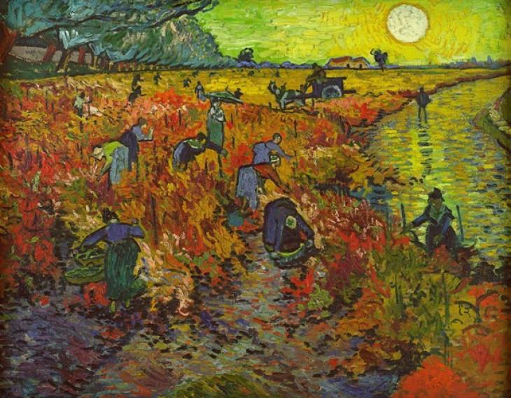 modemart.hu-Vincent Van Gogh: Vörös szőlőkertek Arles-ban
