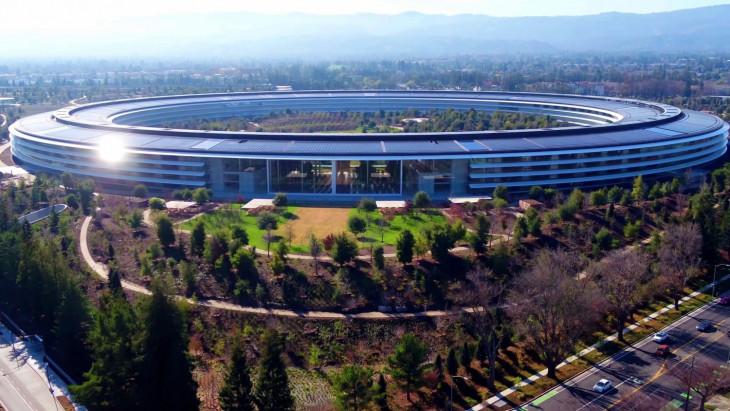 blog.mortons.hu-A Pentagon méreteihez hasonló új Apple központ áprilisban nyitja meg kapuit Kaliforniában