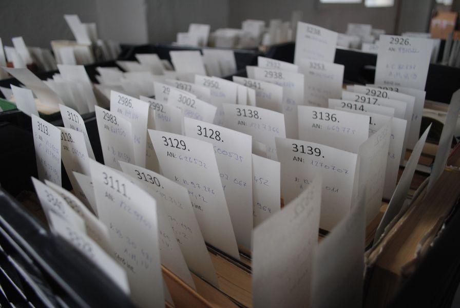 OSZK/Mikes Kelemen Program-Raktározzák a beérkező dokumentumokat