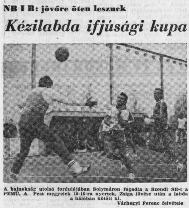 Hungaricana-Várhegyi Ferenc egy 1983-as felvétele a Pest Megyei Hírlapban