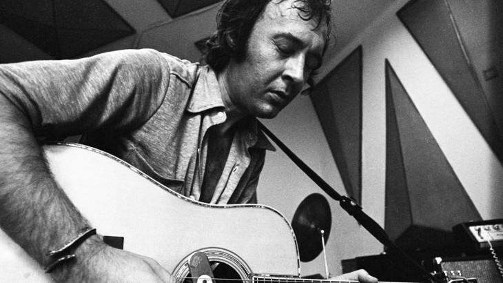 Fortepan/Szalay Zoltán-Szabó Gábor a Magyar Rádió stúdiójában 1972-ben