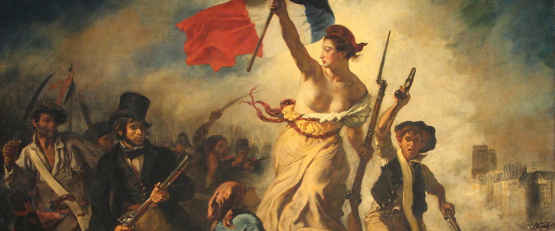 Eugéne Delacroix: a szabadság vezeti a népet