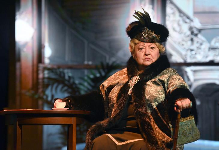 MTI/Bruzák Noémi-Molnár Piroska játszik Dragomirov hercegnő szerepében