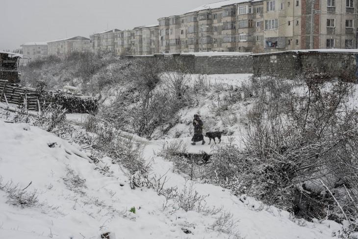 """Hajdú D. András-Részlet a MÚOSZ-nagydíjas sorozatból. """"A fal, amit mi kerítésnek hívunk"""""""