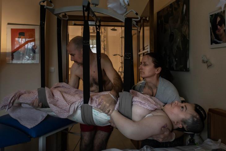 """Kovács Bea-Részlet az André Kertész-nagydíjas sorozatból. """"Éber kóma"""""""