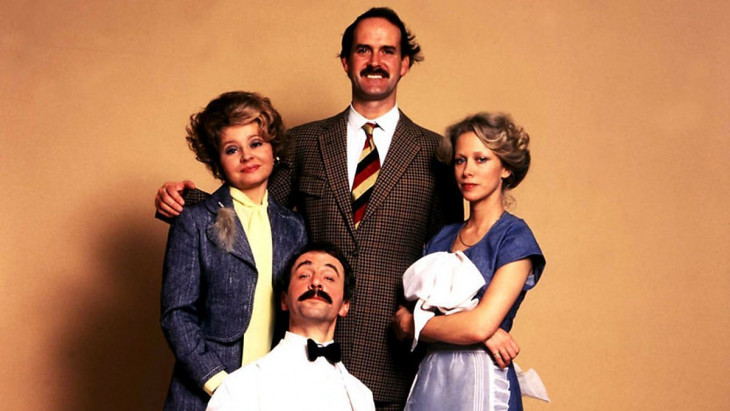 imdb.com-John Cleese, Connie Booth, Andrew Sachs, és Prunella Scales