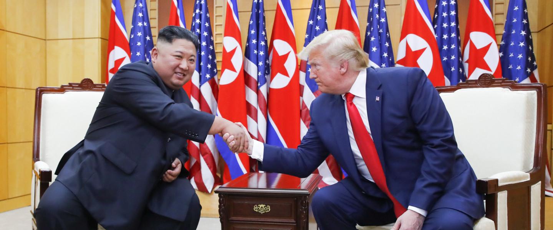 Donlad Trump-Kim Dzsong Un történelmi találkozója
