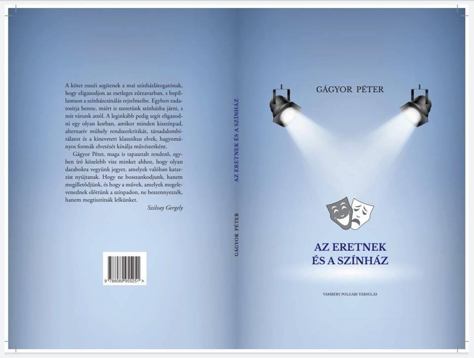 Facebook-Az eretnek és a színház című kötet borítója
