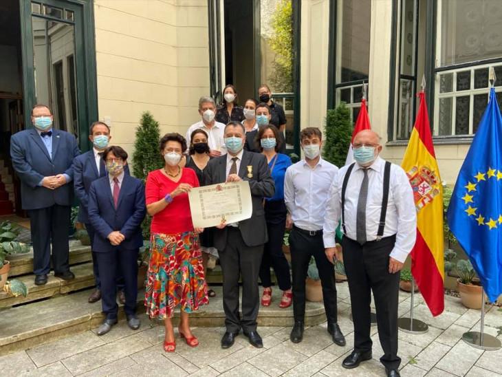 Spanyol Nagykövetség Facebook oldala-