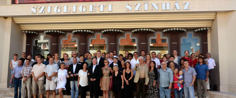 A Szigligeti Színház évadnyitója 2012-ben