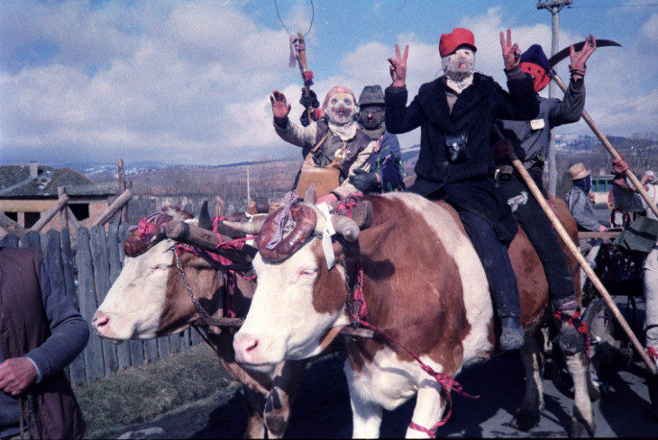 Hagyományok Háza, Folklórdokumentációs Könyvtár és Archívum-Gyergyóditrói álarcosok. Felcsík, 1980-as évek