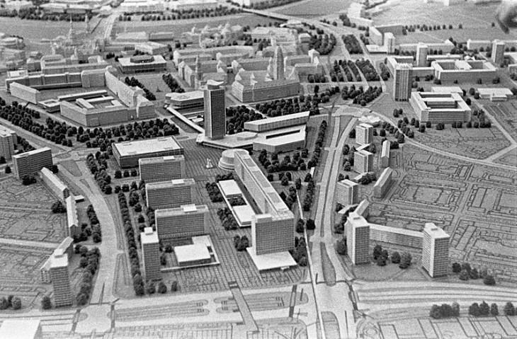 Bundesarchiv-Prager Strasse makett