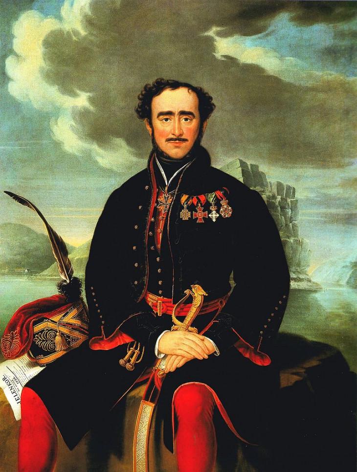 Schöfft József: Gróf Széchenyi István, 1836.-