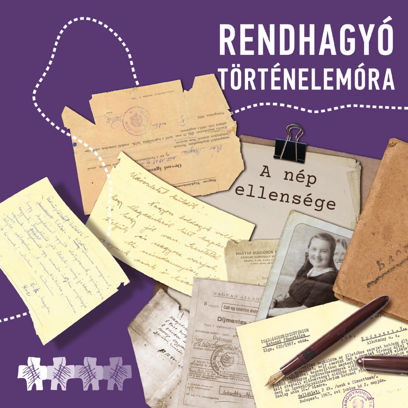 A GULÁG-okban Elpusztultak Emlékének Megörökítésére Alapítvány-A rendhagyó történelemóra plakátja