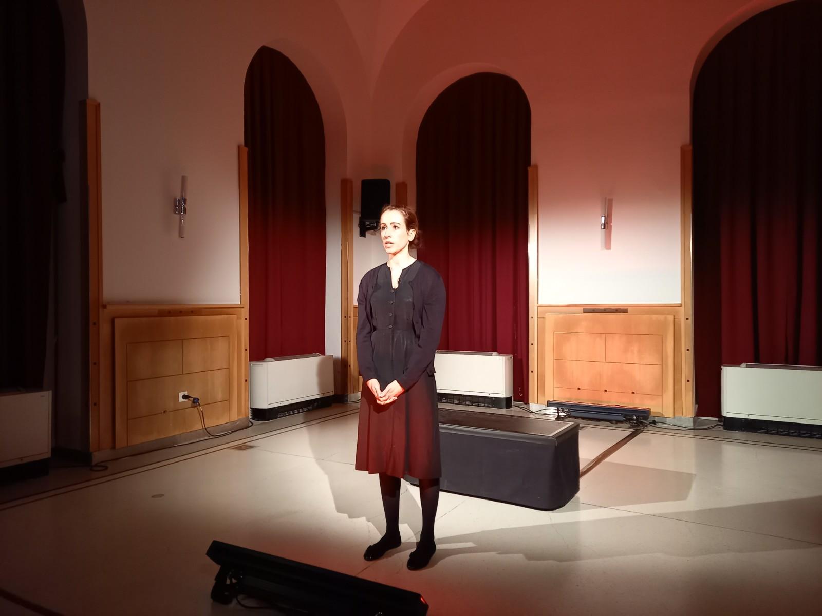 A GULÁG-okban Elpusztultak Emlékének Megörökítésére Alapítvány-Török Anna színművész