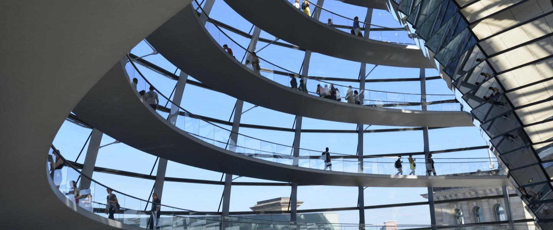 A Reichstag kupolacsarnoka