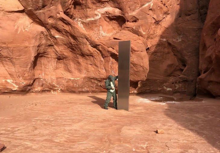 Utah DPS-A titokzatos monolit a utahi sivatagban