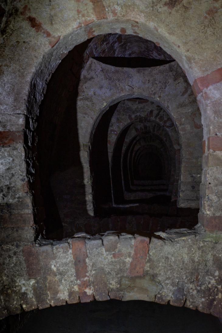 Nyírő András-A Mala-forrás alagútja Esztergomban – évtizedekig száraz volt