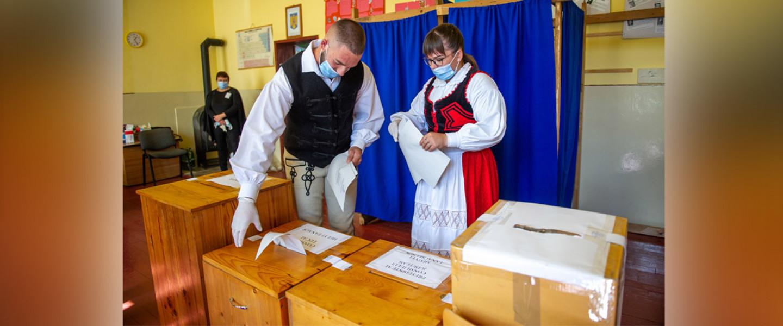 Székelyföldi szavazók